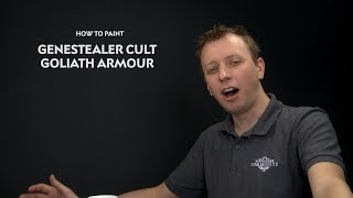 WHTV Tip of the Day - Genestealer Cult Goliath Armour.