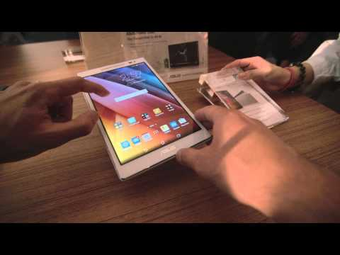 Asus ZenPad 8.0 hands-on review - Computex 2015 - Taipei Taiwan -