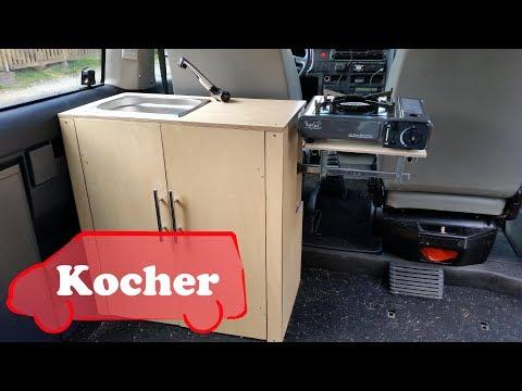 Kocher in den Bus einbauen  - VW T4 Umbau zum Camper #05