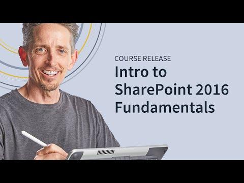 Microsoft SharePoint 2016 Fundamentals - YouTube