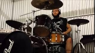 """""""Rat on a Sinking Ship"""" Dog Fashion Disco drum cover by Josh Sparks"""