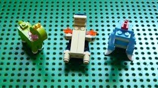 Typhlosion  - (Pokémon) - Lego Pokemon + Instructions Part 6 - Meganium, Typhlosion, and Feraligatr