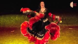 """Cracow Orient Festival 2015- Radosława """"Rada"""" Bogusławska, Gypsy solo dance"""