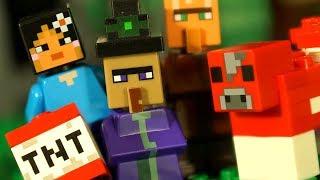 LEGO Minecraft 2017 - ЛЕГО Майнкрафт + Мультфильмы Все Серии Подряд Видео для Детей