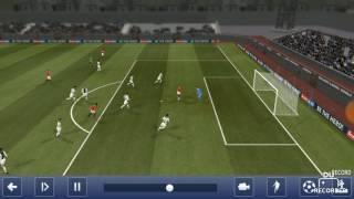 Alexis Sanchez beautiful trick - football Dream League Soccer 2017