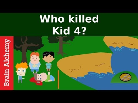 5 riddles popular on crime (Part#5) | Murder mystery riddles | Who did it? | Can you solve it?