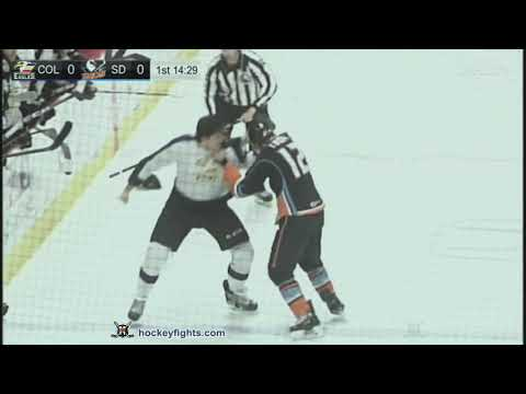 Corey Tropp vs. Mason Geertsen