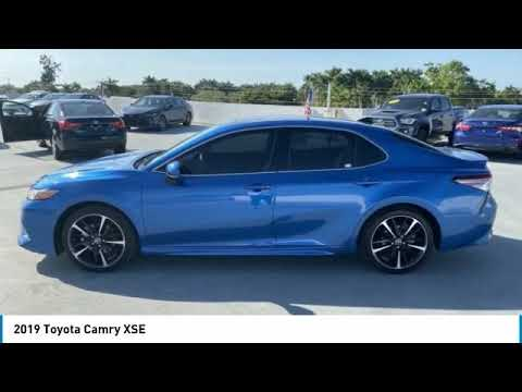 Certified Pre-Owned 2019 Toyota Camry XSE