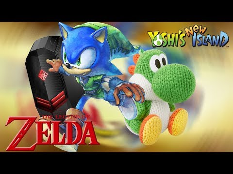 Sonic Lost World - Zelda and Yoshi DLC on PC! (1080p 60fps/Cemu)
