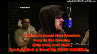 Eminem's Brand New Freestyle 2016 [Prod. By Cash Manila]