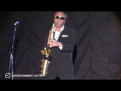 Steve - Madness Saxophonist Live Video