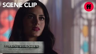 Shadowhunters | Season 1, Episode 11: Alec Wants To Help Izzy | Freeform