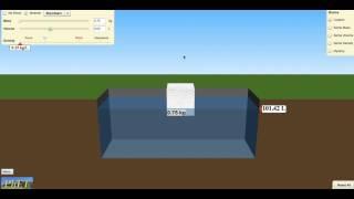 Density Phet Instruction