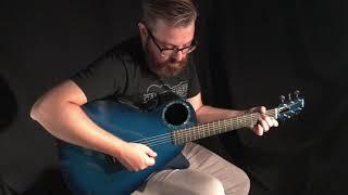 RainSong Blue Graphite Guitar at Guitar Gallery