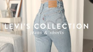 Levi's Collection: Top 5 Best High Waist Jeans & Shorts • Naakie Nartey