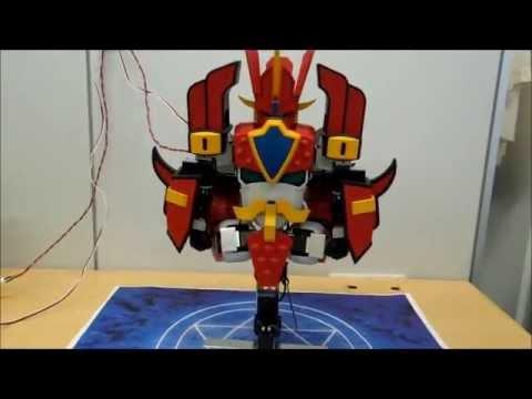 日本超神網友打造可自行變形的【魔動王】機器人