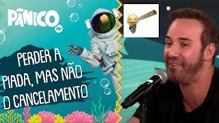 O humor está imune aos cancelamentos? Diogo Portugal comenta