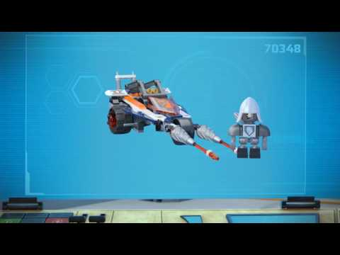 Vidéo LEGO Nexo Knights 70348 : Le double tireur de Lance