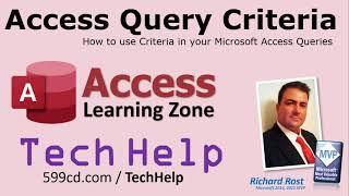 Access Query Criteria: How to use Criteria in your Microsoft Access Queries. Access Queries Criteria