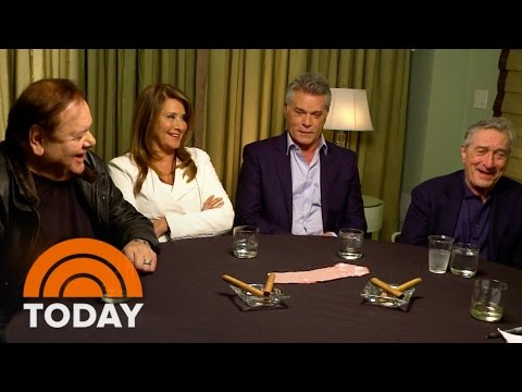 'Goodfellas' Cast Reunites 25 Years Later   TODAY