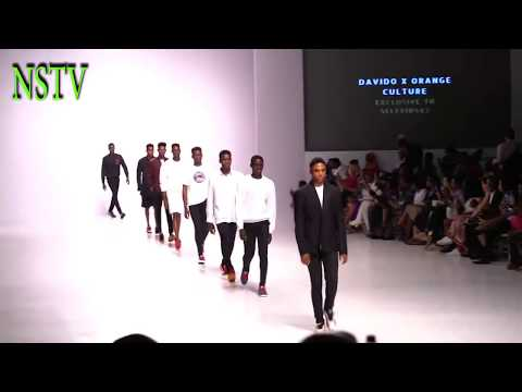 DAVIDO WAS RESPECTED AS HE DISPLAYS HIS CLOTHING COLLECTIONS AT THE LAGOS FASHION WEEK