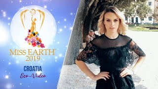 Nera Nikolic Miss Earth Croatia 2019 Eco Video