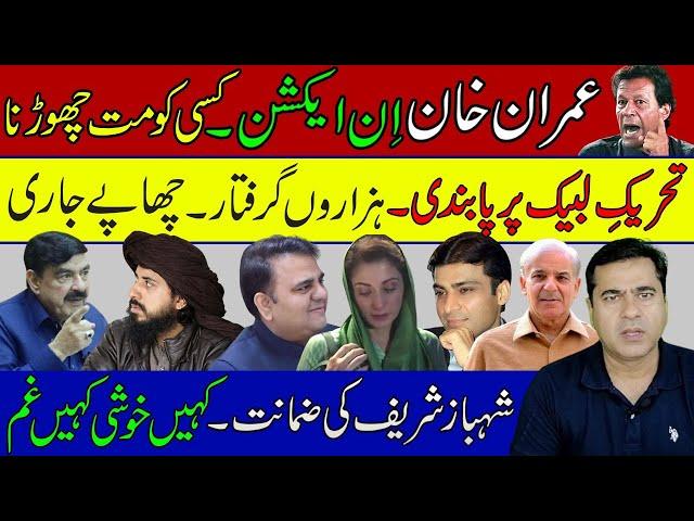 عمران خان ان ایکشن کسی کو مت چھوڑنا۔ تحریک لبیک پر پابندی