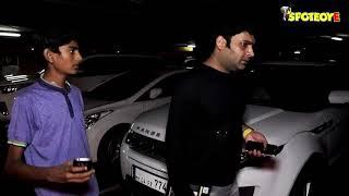 SPOTTED- Karan Johar, Ayushamnn Khurrana ,Kapil Sharma at the Mumbai Airport | SpotboyE