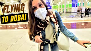 FLYING IN 2021 - Istanbul to DUBAI | What it is like to TRAVEL during COVID