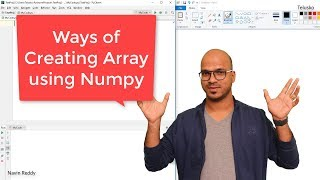 #29 Python Tutorial for Beginners | Ways of Creating Arrays in Numpy