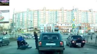 Аварии Драки на дорогах лучшее