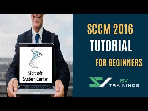 Microsoft SCCM 2016 Tutorials | SCCM 2016 Online Training ...