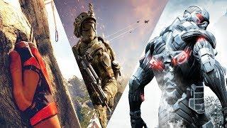 Эволюция игр от компании Crytek 2005 - 2018