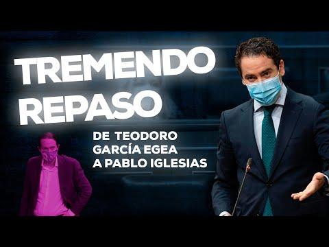 El tremendo repaso de Teodoro García Egea a Pablo Iglesias