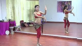 اغاني حصرية StepFlix Belly dance, Level 1, basic step 14: hand waves, snake & Persian arms تحميل MP3