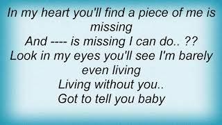Aqualung - On My Knees Lyrics