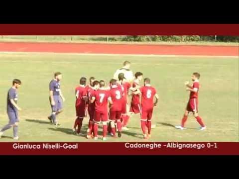 immagine di anteprima del video: CADONEGHE - ALBIGNASEGO 1-2 (18.09.2016) agg.22.09