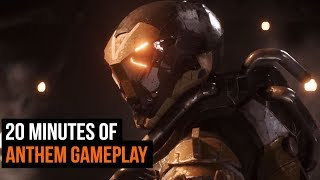 20 Minutes of Anthem Gameplay - Developer Commentary