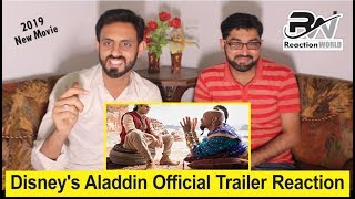 Disney's Aladdin Official Trailer In Theaters May 24! Pakistani Reaction