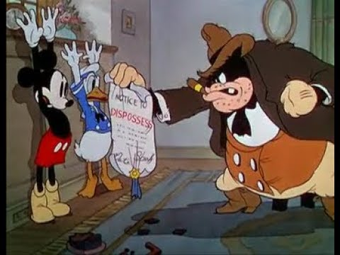 Mickey Mouse, Donald Duck, Goofy, Moving Day (Re-uppi, 1936)