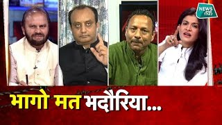 अंजना ओम कश्यप ने अनुराग भदौरिया को किया चैलेंज, फंसे तो करने लगे गोलमोल EXCLUSIVE
