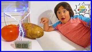 Potato Clock Easy DIY Science Experiment!!!