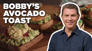 Avocado Toast 3 WAYS With Bobby Flay | Food Network