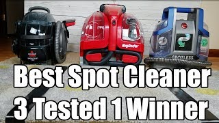 Best Spot Cleaner for Carpet - Rug Doctor vs Bissell vs Hoover