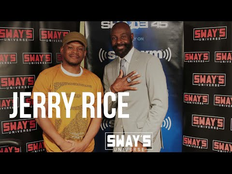 Jerry Rice on Moving From the 49ers to the Raiders + Sway Fumbles his Hall Of Fame Ring!