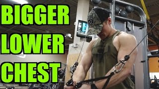 Top 5 Exercises to Build Lower Chest