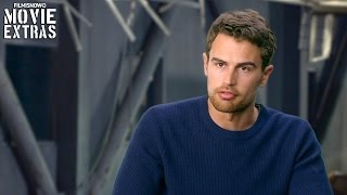 The Divergent Series Allegiant  Theo James Four Behind The Scenes Movie Interview 2016