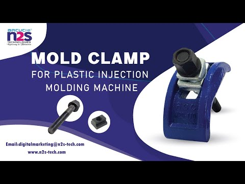 Blue C Type Mould Clamps (M20) For Plastic Injection Moulding Machine