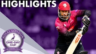 THE FINAL | Hampshire v Somerset | Royal London One-Day Cup 2019 - Highlights