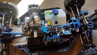Losi 5ive with Killerbee switch